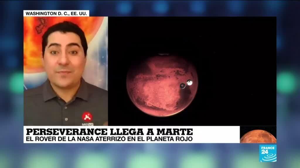 """2021-02-19 00:01 Jorge Nuñez: """"Con Perseverance estamos ensayando tecnologías para llevar astronautas a Marte"""""""