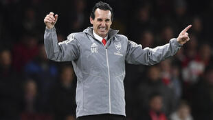 Emery was sacked by Arsenal last November