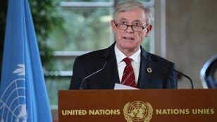 الموفد الأممي إلى الصحراء الغربية هورست كوهلر في جنيف 06 كانون الأول/ديسمبر 2018