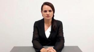 Biélorussie Svetlana Tikhanovskaïa