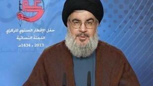 Le chef du Hezbollah libanais, Hassan Nasrallah.
