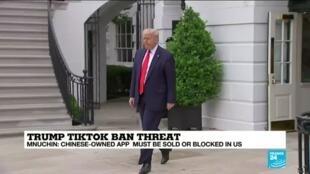 2020-08-02 22:11 US to announce measures against TikTok