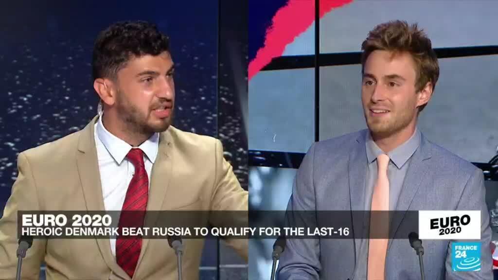 2021-06-21 23:51 Euro 2021: Denmark thump Russia to make last 16 in stunning fashion