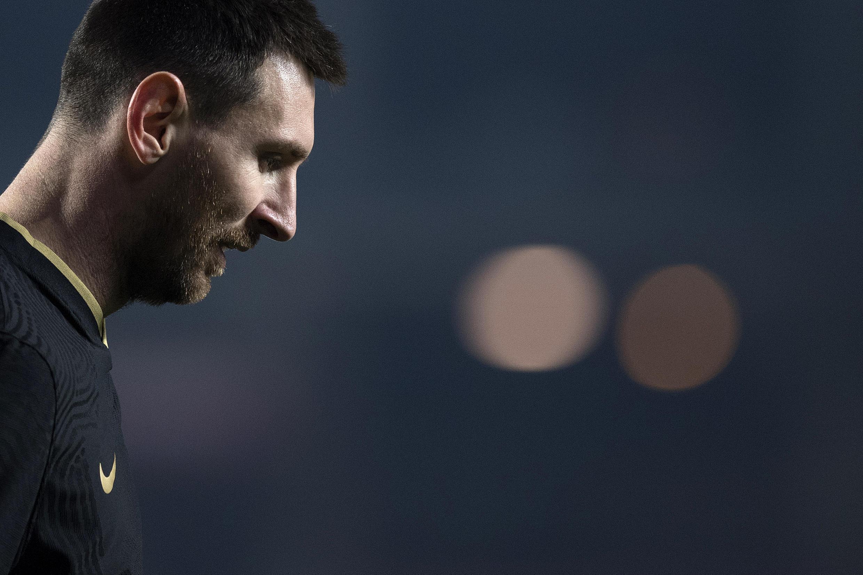 El delantero argentino del FC Barcelona, Lionel Messi, durante el partido de Copa contra el Granada, el 3 de febrero de 2021