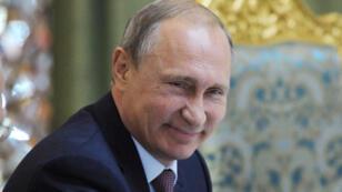 Le président russe Vladimir Poutine, allié du dictateur syrien Bachar al-Assad.