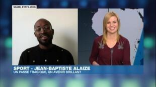 Jean-Baptiste Alaize, invité d'Afrique Hebdo
