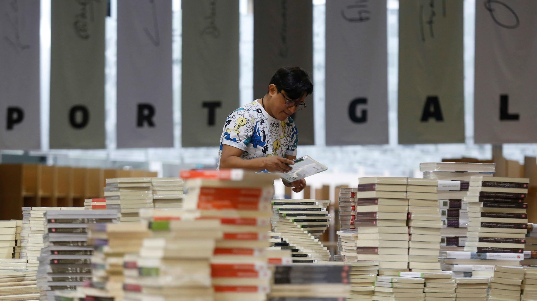 La Feria Internacional del Libro de Guadalajara empieza su gran celebración de las letras, con una edición en la que Portugal es el invitado de honor. 23 de noviembre de 2018.