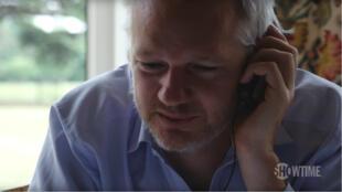 """Julian Assange, au cœur du documentaire """"Risk"""" de Laura Poitras."""
