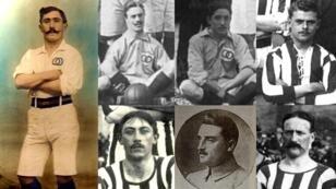 Certains des internationaux français tués lors de la Première Guerre mondiale.