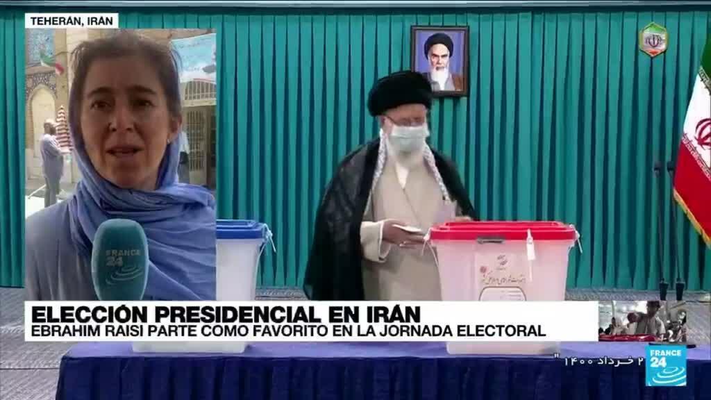 2021-06-18 13:01 Informe desde Teherán: iraníes acuden a las urnas para elegir al sucesor de Hasan Rohani
