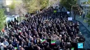 2019-11-20 18:36 Iran's Rouhani claims victory over unrest, blames foreigners