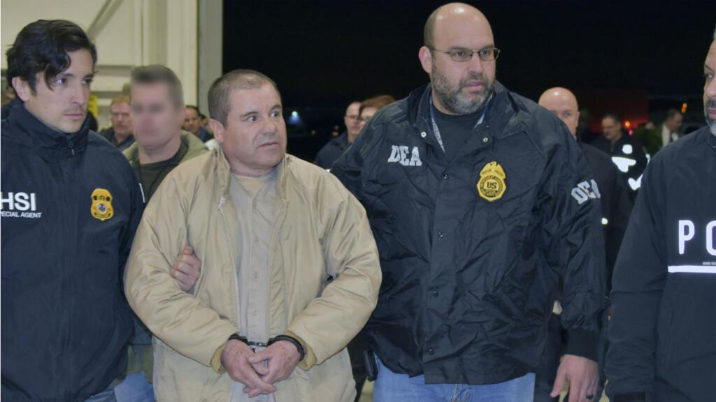 US judge sentences Mexican drug kingpin 'El Chapo' Guzman to life