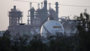 La planta de la petrolera estatal mexicana Pemex en Tula, estado de Hidalgo (centro), el 11 de enero de 2018