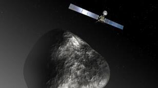 """La sonde européenne Rosetta a reçu le feu vert final pour larguer son robot Philae sur la comète """"Tchouri""""."""