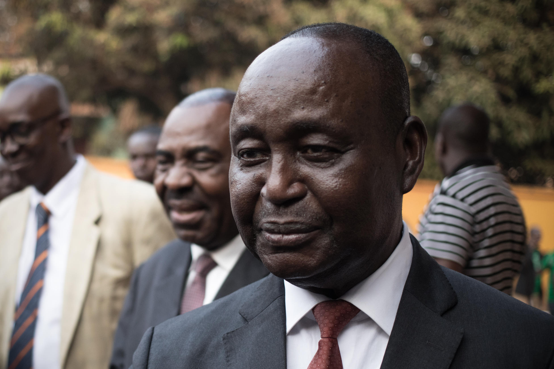Former Central African Republic president Francois Bozize