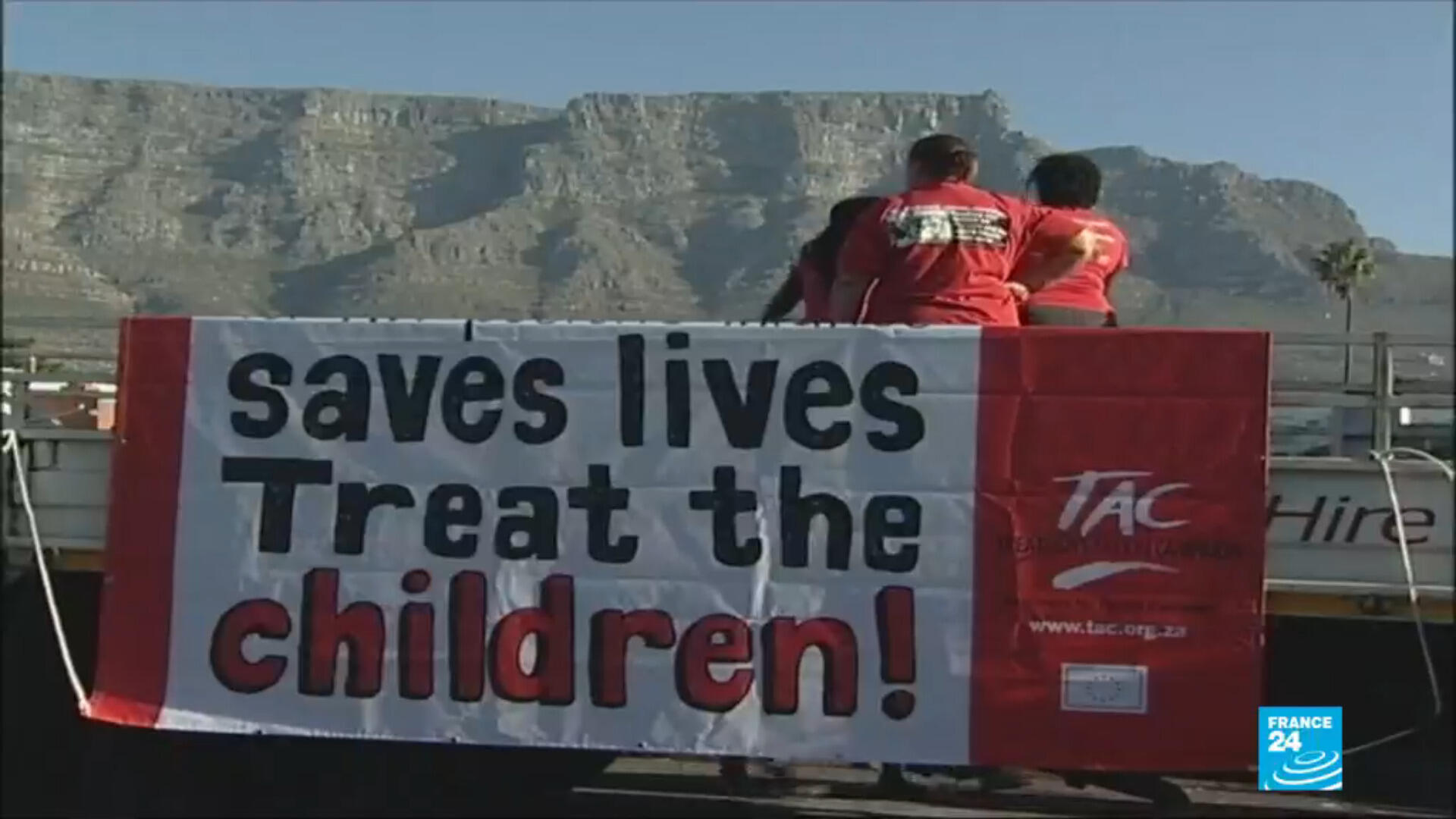 South Africa aids