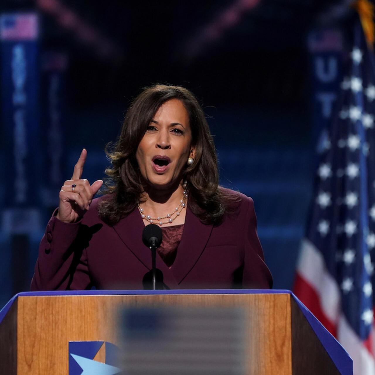 Kamala Harris Accepts Vp Nomination Making History On Third Night Of Democratic Convention