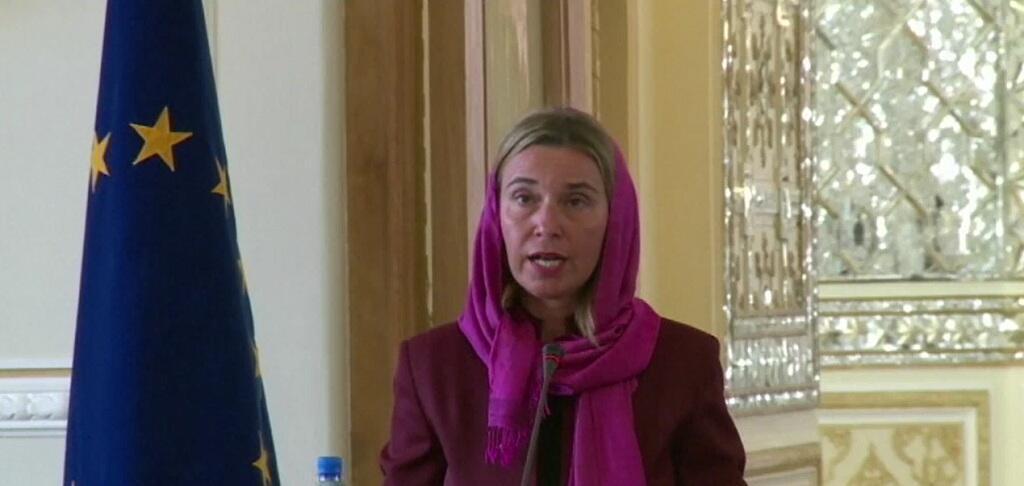 La chef de la diplomatie de l'Union européenne, Federica Mogherini, a effetué sa première visite officielle en Iran mardi 28 juillet.