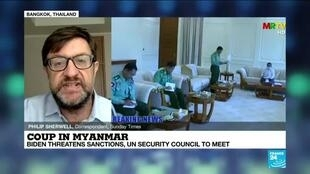 2021-02-02 09:34 Coup in Myanmar: Generals tighten grip on power
