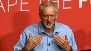 زعيم حزب العمال جيريمي كوربن
