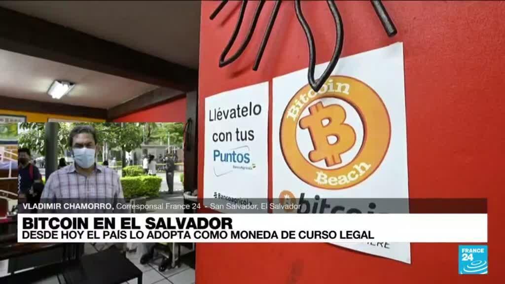 2021-09-07 19:06 Informe desde San Salvador: así fue la llegada del bitcoin como moneda legal