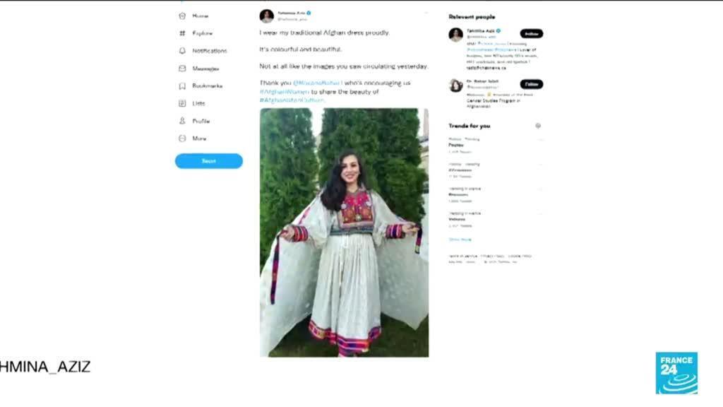 """2021-09-14 06:40 Afghanistan : """"Ne touchez pas à mes vêtements"""", des Afghanes se révoltent sur les réseaux sociaux"""