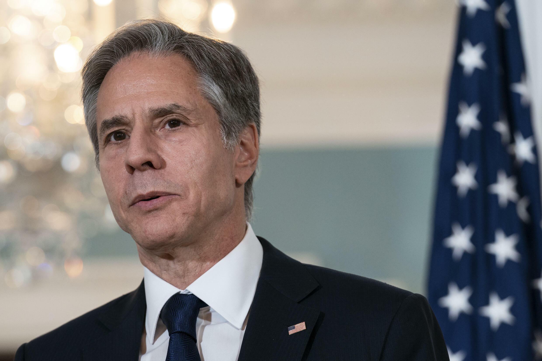 El secretario de Estado estadounidense, Antony Blinken, en el Departamento de Estado en Washington, el 1 de julio de 2021.