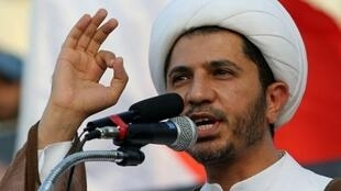 زعيم المعارضة الشيعية الشيخ علي سلمان الأمين العام لجمعية الوفاق