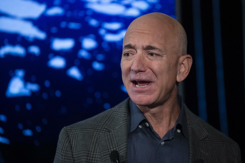 Jeff Bezos, Fondateur d'Amazon et patron de Blue Origin, le 19 septembre 2019 à Washington