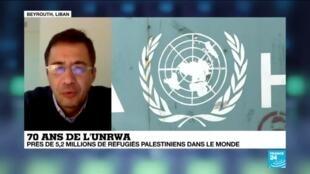 2019-12-08 10:06 70 ans de l'UNRWA : l'agence pour les réfugiés palestiniens en crise