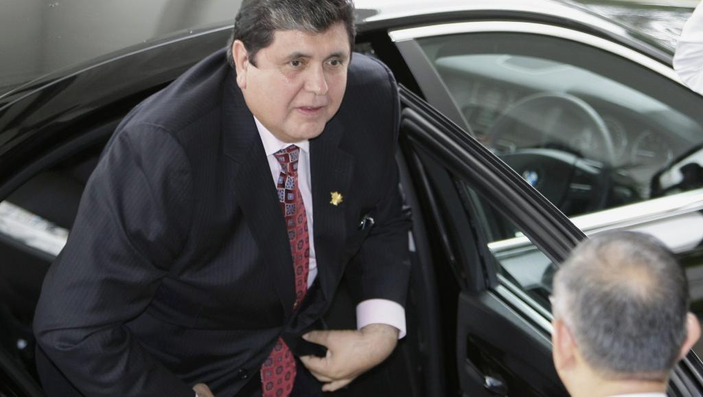 Foto de archivo de Alan García.
