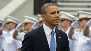 - الرئيس الأمريكي باراك أوباما