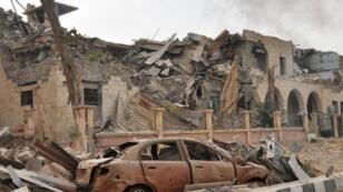 دير الزور في شرق سوريا
