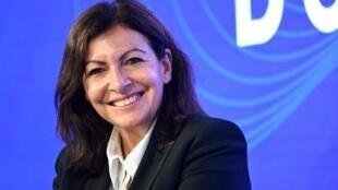 La maire de Paris Anne Hidalgo, lors d'un débat le 29 septembre 2020 à Paris