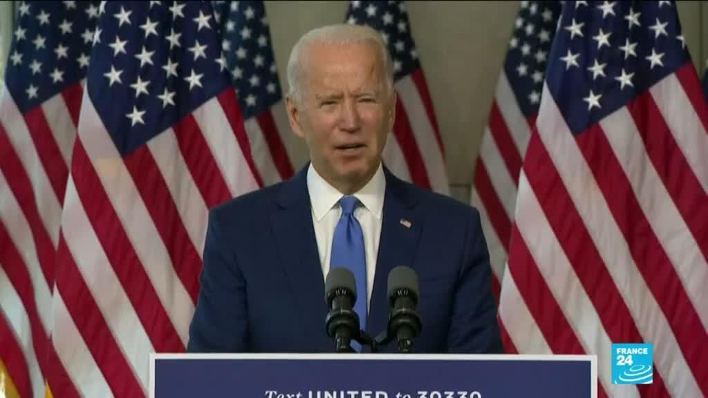 2020-09-21 10:08 US Supreme Court battle: Biden accuses Trump of abuse of power