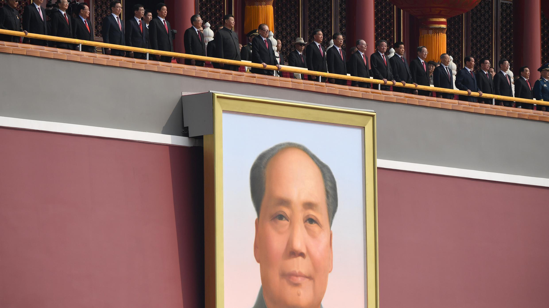 Xi Jinping a présidé aux célébrations du 70e anniversaire du régime communiste, mardi 1er octobre à Pékin.