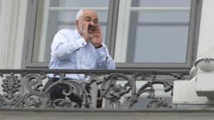 Le ministre iranien des Affaires étrangères, Mohammad Javad Zarif, s'adressant aux journalistes, à Vienne, le 13 juillet 2015.