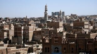 Vue générale de Sanaa, capitale du Yémen.