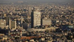 العاصمة السورية دمشق في 15 سبتمبر/أيلول 2018