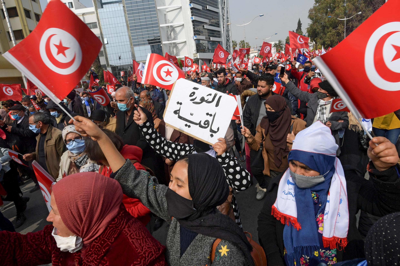 Tunis rally