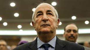 Le candidat à l'élection présidentielle algérienne Abdelmadjid Tebboune a accusé la France d'ingérence.