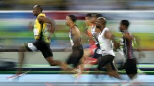 Usain Bolt a décroché son troisième titre olympique consécutif sur 100m.