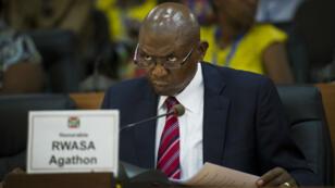 Le principal opposant au président burundais Pierre Nkurunziza, Agathon Rwasa, a siégé lundi à l'Assemblée nationale.