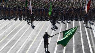 Les gardiens de la Révolution sont placés sous le contrôle direct du Guide suprême iranien.