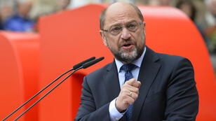 Le chef des sociaux-démocrates allemands Martin Schulz (archives).