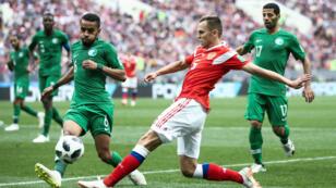 Le premier match de la Coupe du Monde 2018, Russie-Arabie Saoudite.