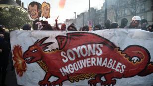 À Nantes, les manifestations contre le FN ont émaillées d'incidents.