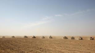Le village de Bajwaniyah, situé au Sud de Mossoul, fait parti des villages libérés par les forces irakiennes, le 18 octobre 2016.