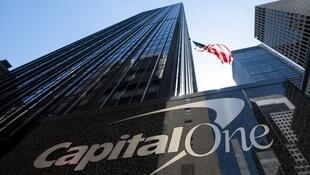 Le siège de Capital One Financial, à New York, le 17 avril.