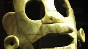 Le masque maya de jade restitué par la Belgique au Guatemala